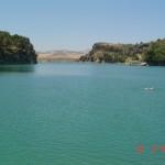 swimming at el Chorro