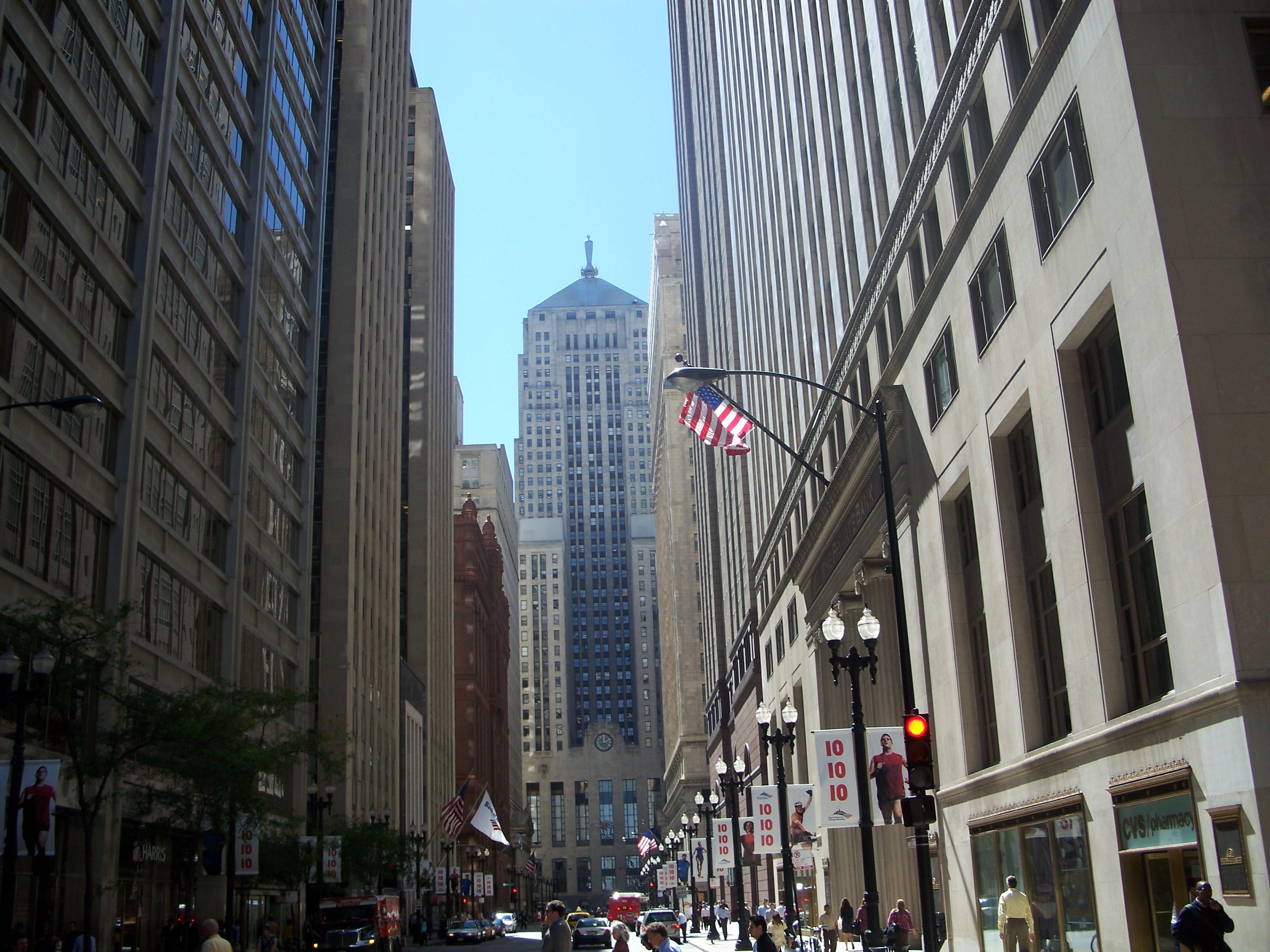 Chicago Skyline LaSalle