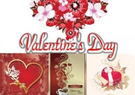 Valentines Day Love Vector 270x190 Free Valentines Day Vectors From Around the Internet