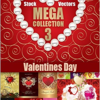 Vector With Love On Valentines Day 350x350 Free Valentines Day Vectors From Around the Internet